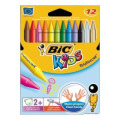 Kredki PLASTIDECOR 12 BIC KID 5432 /8029602/829770/920299/945764